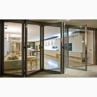 Двери-гармошка. Раздвижные двери и окна