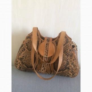 946a9dec1780 Продам женскую сумку из кожи африканского питона и буйвола