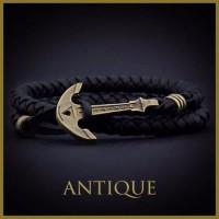Кожаный Браслет - Скидка 40% Мужской браслет на руку плетёный, кожа