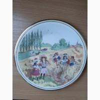 Старинная английская тарелка