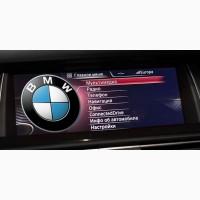 Русификация BMW, кодирование, обновление навигации. Карты. Русский BMW Руссификация