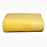 Махровое полотенце Amber (желтое) 70х130см