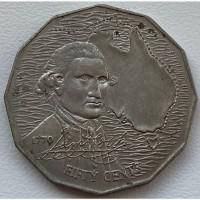 Австралия 50 центов 1970 год