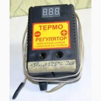 Терморегулятор ЦТР-2 для диапазона температур -50.+125 C с задатчиком
