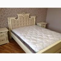 Кровать двуспальная Мария из дуба