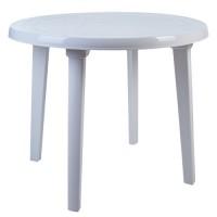 Пластиковый круглый стол