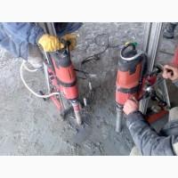 Алмазне свердління отворів в бетонні