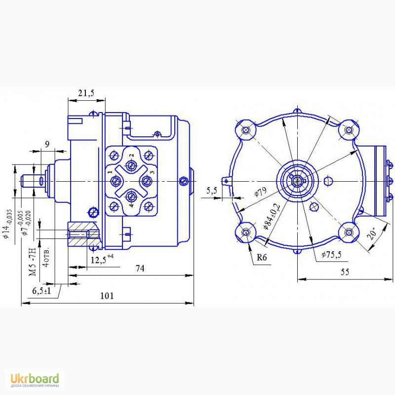 4аут80в2 16ухл4 схема подключения