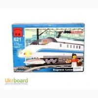 Конструктор лего-совместимый BRICK 178 элементов поезд экспресс