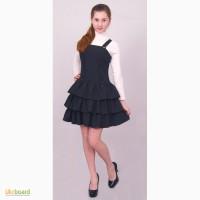 Платье - сарафан школьный М -944