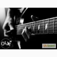 Уроки игры на гитаре, обучение вокалу