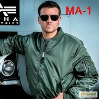 Лётная куртка MA-1 Alpha Industries USA