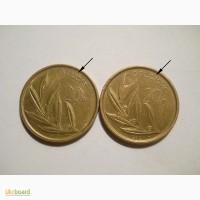 Бельгия-20 франков (2 разные)