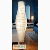 Стильный напольный светильник (новый) ikea