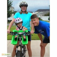 Новинка в Украине! Детское велокресло IBERT (USA) велокрісло