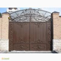 Ворота кованые под заказ