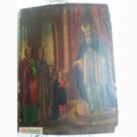 Продам старую икону Введение во храм Пресвятой Богородицы
