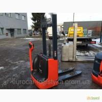 Штабелер электрический LINDE L 10 1000кг 2012г 1, 8м-выс/под