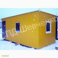 Мобильный домик, вагончик строительный, бытовка, прорабская, мобильная мини-лаборатория