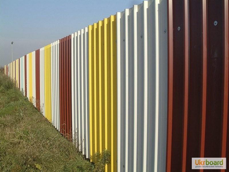 Купить профнастил для забора украина купить откатные ворота коломна