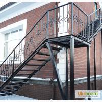 Изготовление лестниц, перил, арок, решеток, заборов в Одессе и области