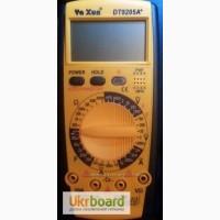 Цифровой профессиональный Мультиметр Ya Xun DT-9205A+ для измерения сопротивления