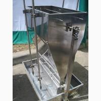 Кормовые автоматы для откорма свиней увлажненным кормом (КСВ323)