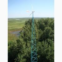 Ветроэлектростанция (ВЭС) сетевая 30 кВт