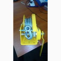 Лебедки ручные барабанные BHW с тормозным фиксатором