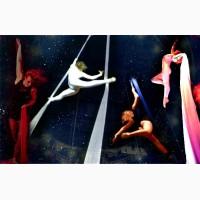 Индивидуальные тренировки по воздушной гимнастике на полотнах для детей и взрослых