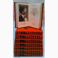 Продам собрание произведений Марка Твена в 8-ми томах