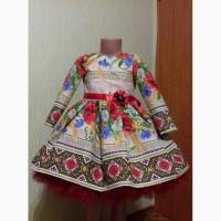 Большой выбор платьев в укр. стиле на любой возраст рост можно мама+дочь