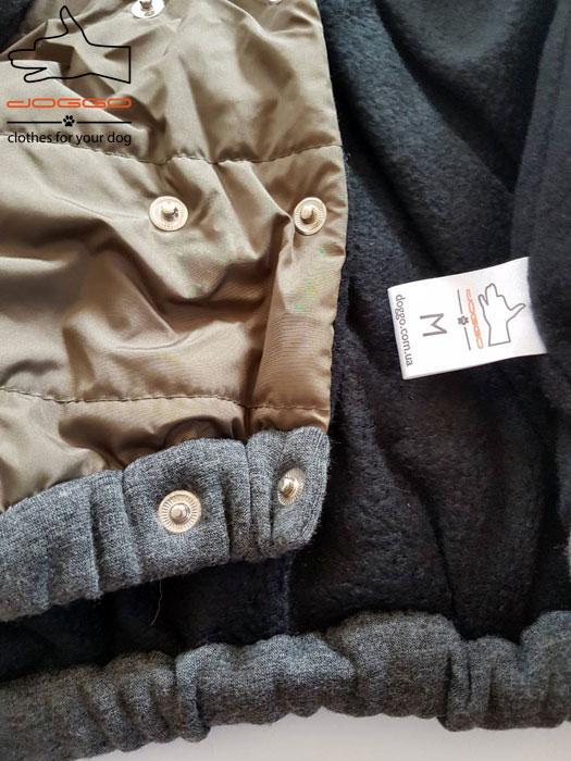 Фото 16. Одежда для собак – Куртка-бомбер. TM DOGGO Весна – 2018