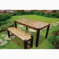 Деревянный стол Завтрак в стиле кантри