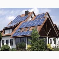 Сетевая солнечная электростанция мощностью 15 кВТ
