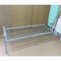 Кровать металлическая 190х80, спинка метал