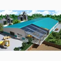 Строительство ангаров по Украине. Изготавливаем и монтируем ангары, склады