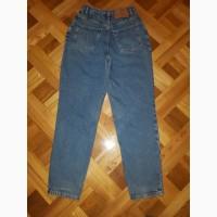 Джинсы синие c завышенной талией New Look размер W29 L30 100% Cotton