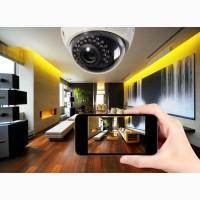 Видеонаблюдение, домофоны, контроль доступа, электрозамок, прокладка слаботочной сети