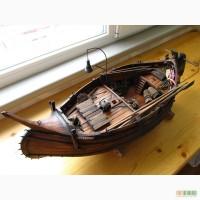 Мулета португальская - модель рыбацкой лодки
