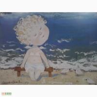 Пишу копии картин Евгении Гапчинской