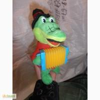 Крокодил Гена с аккордеоном