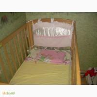 Продам детскую кроватку из ясеня 350 грн. состояние отличное