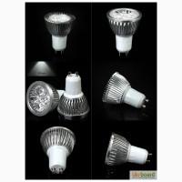 Светодиодная лампа GU10 9W, 12W, 15W LED 85-220 вольт переменного напряжения