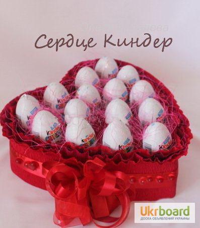 Фото к объявлению: необычные подарки - букеты из конфет - Ukrboard.Kyiv
