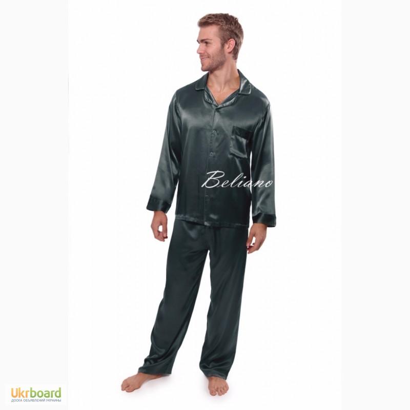 ... Мужская пижама из шелка adf8138a7b298