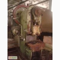 Пресс К116 ус.63т.с. электромеханика рабочее состояние