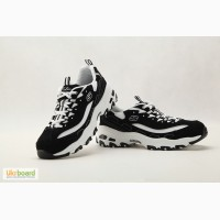 Кроссовки женские Skechers D Lites - Biggest Fan Black/White -1250