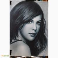 Портрет на заказ по фото выполнит профессиональный художник
