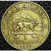 Восточная Африка 1 шиллинг 1949 год ОТЛИЧНЫЙ СОХРАН